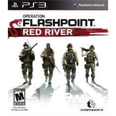 Foto Jogo Operation Flashpoint: Red River PlayStation 3 Codemasters