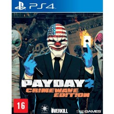 Foto Jogo Payday 2 Crimewave Edition PS4 505 Games