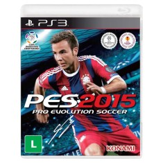 Foto Jogo Pro Evolution Soccer 2015 PlayStation 3 Konami