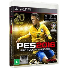 Foto Jogo Pro Evolution Soccer 2016 PlayStation 3 Konami