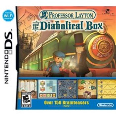 Foto Jogo Professor Layton and the Diabolical Box Nintendo DS
