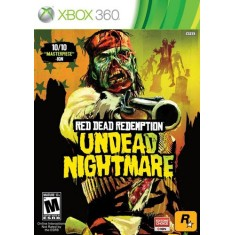 Foto Jogo Red Dead Redemption Undead Nightmare Xbox 360 Rockstar