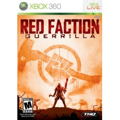 Foto Jogo Red Faction Guerrilla Xbox 360 THQ