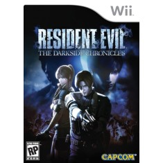 Foto Jogo Resident Evil: The Dark Side Chronicles Wii Capcom