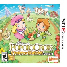 Foto Jogo Return to PopoloCrois: A Story of Seasons Fairytale Marvelous Interactive Nintendo 3DS
