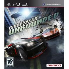Foto Jogo Ridge Racer Unbounded PlayStation 3 Bandai Namco