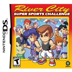 Foto Jogo River City Sports Challenge Aksys Games Nintendo DS