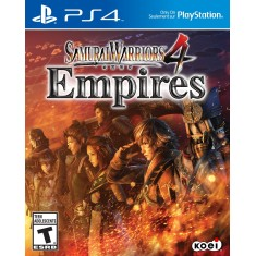 Foto Jogo Samurai Warriors 4 Empires PS4 Koei