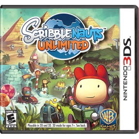 Foto Jogo Scribblenauts Unlimited Warner Bros Nintendo 3DS