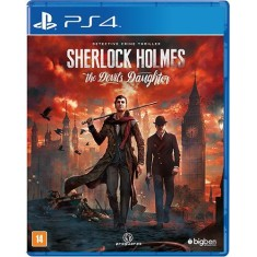Foto Jogo Sherlock Holmes The Devil's Daughter PS4 Big Ben
