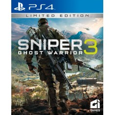 Foto Jogo Sniper Ghost Warrior 3 PS4 CI Games