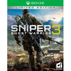 Foto Jogo Sniper Ghost Warrior 3 Xbox One CI Games