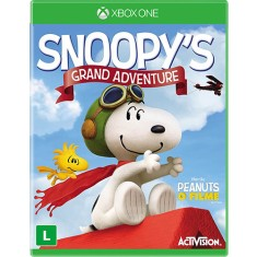 Foto Jogo Snoopy's Grand Adventure Xbox One Activision