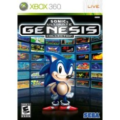 Foto Jogo Sonic Ultimate Genesis Collection Xbox 360 Sega