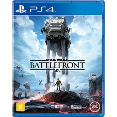 Foto Jogo Star Wars Battlefront PS4 EA