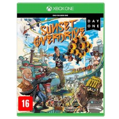 Foto Jogo Sunset Overdrive Day One Xbox One Microsoft