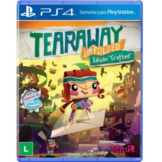 Foto Jogo Tearaway Unfolded PS4 Media Molecule