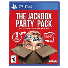 Foto Jogo The Jackbox Party Pack PS4 Telltale