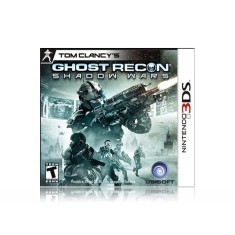Foto Jogo Tom Clancy's Ghost Recon Shadow Wars Ubisoft Nintendo 3DS