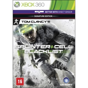 Foto Jogo Tom Clancy's Splinter Cell: Black List Xbox 360 Ubisoft