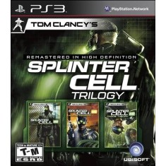 Foto Jogo Tom Clancy's Splinter Cell Trilogy PlayStation 3 Ubisoft
