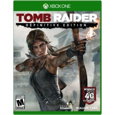 Foto Jogo Tomb Raider Definitive Edition Xbox One Square Enix