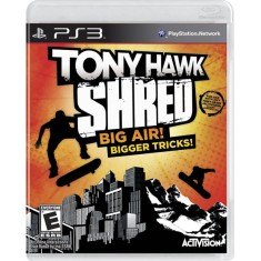 Foto Jogo Tony Hawk: Shred PlayStation 3 Activision