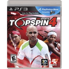 Foto Jogo Top Spin 4 PlayStation 3 2K