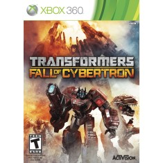 Foto Jogo Transformers: Fall Of Cybertron Xbox 360 Activision
