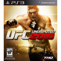 Foto Jogo UFC Undisputed 2010 PlayStation 3 THQ
