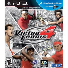 Foto Jogo Virtua Tennis 4 PlayStation 3 Sega