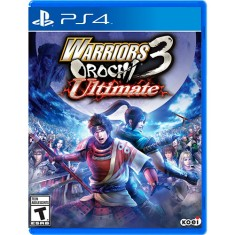 Foto Jogo Warriors Orochi 3 Ultimate PS4 Koei