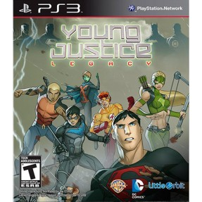 Foto Jogo Young Justice: Legacy PlayStation 3 Majesco Entertainment