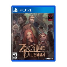 Foto Jogo Zero Escape Zero Time Dilemma PS4 Spike