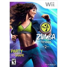 Foto Jogo Zumba Fitness 2 Wii Majesco Entertainment