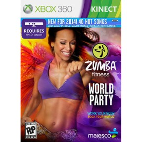Foto Jogo Zumba Fitness: World Party Xbox 360 Majesco Entertainment