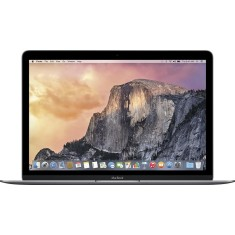 "Foto Macbook Apple MJY42BZ/A Intel Core M 12"" 8GB SSD 512 GB Mac OS X Yosemite Tela de Retina"