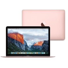 "Foto Macbook Apple MMGL2 Intel Core m3 12"" 8GB SSD 256 GB Tela de Retina M"