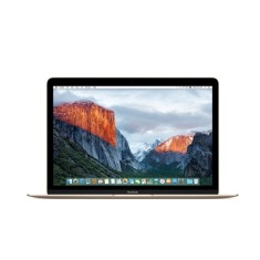 "Foto Macbook Apple MLHF2 Intel Core m5 12"" 8GB SSD 512 GB Mac OS X El Capitan"