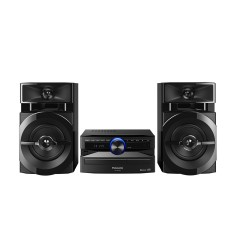 Foto Mini System Panasonic SC-AKX100LBK 250 Watts Bluetooth USB
