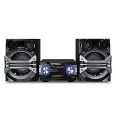 Foto Mini System Panasonic SC-AKX600LBK 1.300 Watts Ripping Bluetooth USB