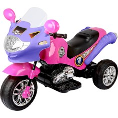 Foto Mini Triciclo Elétrico Speed Chopper Pink - Homeplay