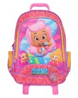 Mochila com Rodinhas Escolar Dermiwil Bubble Guppies Girls G