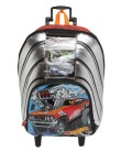 Mochila com Rodinhas Escolar Sestini Hot Wheels Hot Wheels 17Y G 64524