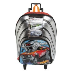 Foto Mochila com Rodinhas Escolar Sestini Hot Wheels Hot Wheels 17Y G 64524