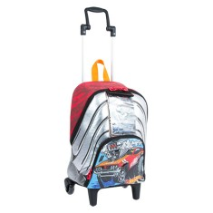 Foto Mochila com Rodinhas Escolar Sestini Hot Wheels Hot Wheels 17Y M 64525