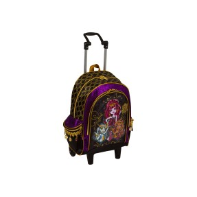 Foto Mochila com Rodinhas Escolar Sestini Monster High 12 Litros Monster High 63251