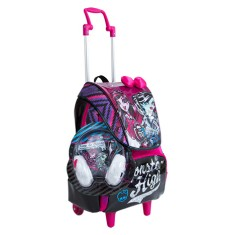 Foto Mochila com Rodinhas Escolar Sestini Monster High Monster High 17Z G 64610