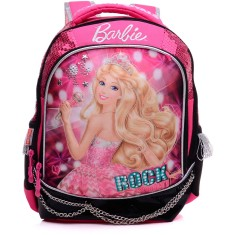 Foto Mochila Escolar Sestini Barbie Rock'n Royals 64346 M