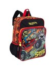 Mochila Escolar Sestini Hot Wheels 17M Plus G 64700